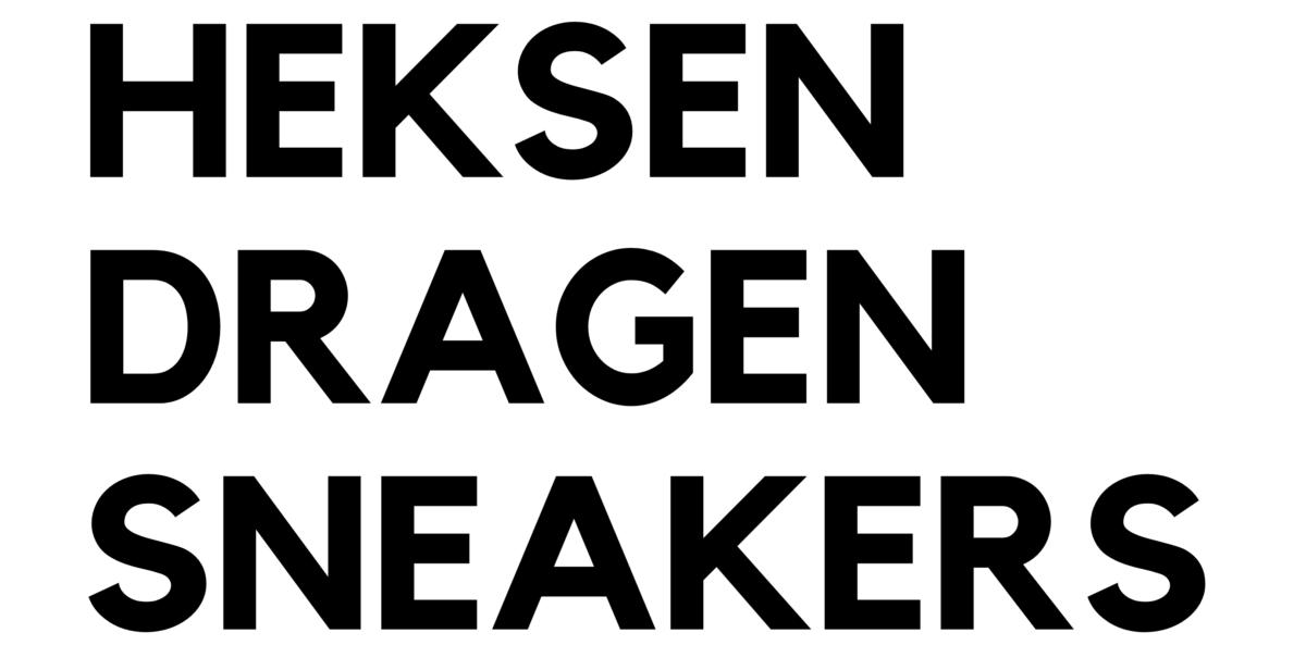 Heksen Dragen Sneakers logo_h
